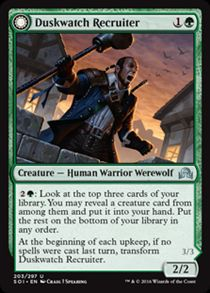Duskwatch Recruiter | Shadows over Innistrad