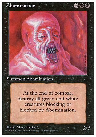 Abomination   4th Edition