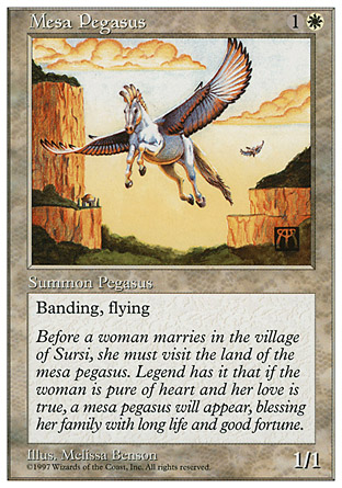 Mesa Pegasus | 5th Edition