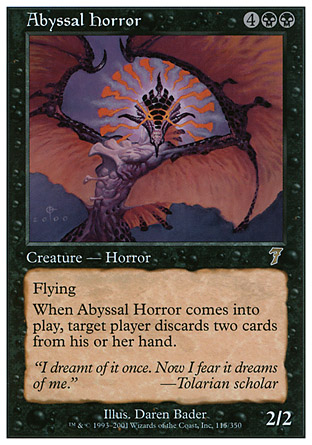 Abyssal Horror | 7th Edition