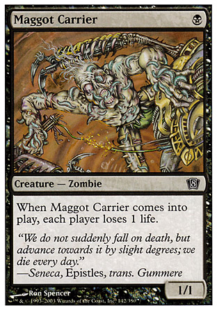 Maggot Carrier | 8th Edition