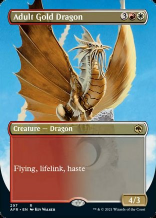 Adult Gold Dragon | Adventures in the Forgotten Realms