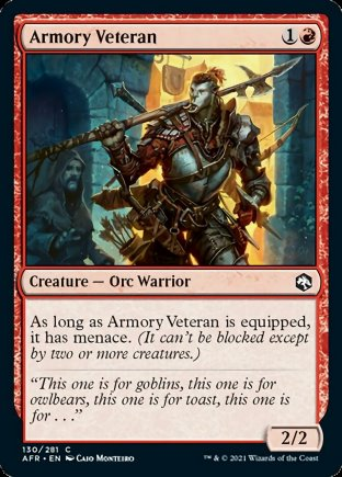 Armory Veteran | Adventures in the Forgotten Realms