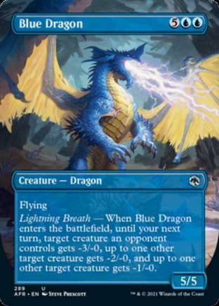 Blue Dragon | Adventures in the Forgotten Realms