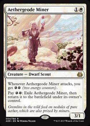 Aethergeode Miner | Aether Revolt