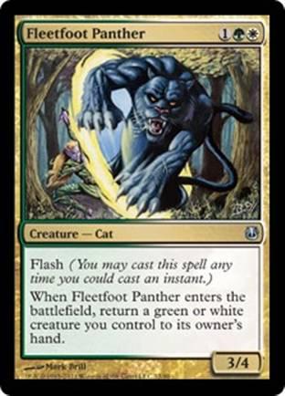 Fleetfoot Panther   Ajani vs Bolas