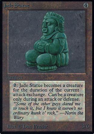 Jade Statue | Alpha
