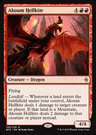 Akoum Hellkite | Battle for Zendikar