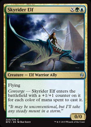 Skyrider Elf | Battle for Zendikar