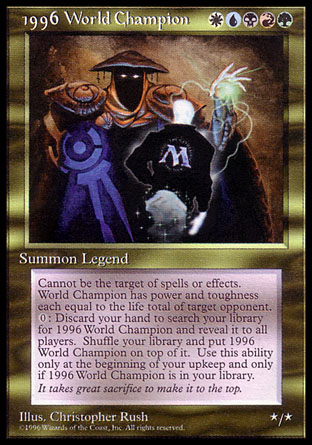 1996 World Champion | Celebration Cards