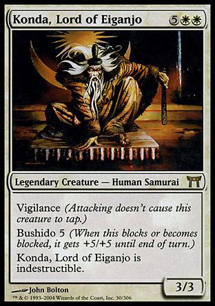 Konda, Lord of Eiganjo   Champions