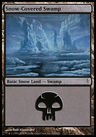 Snow-Covered Swamp   Coldsnap