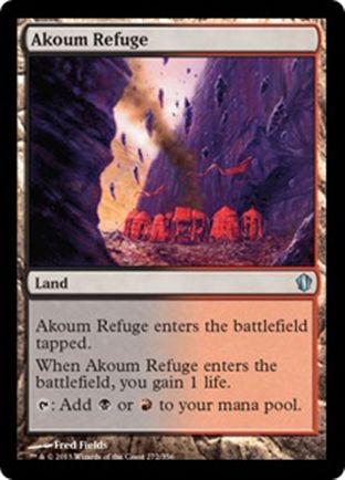 Akoum Refuge | Commander 2013