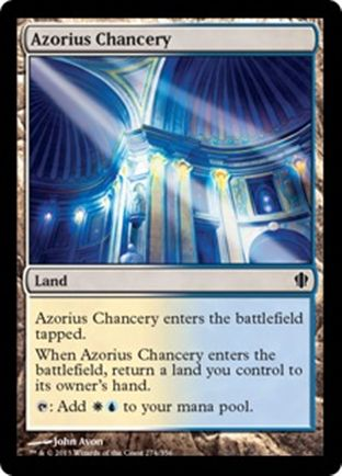 Azorius Chancery | Commander 2013