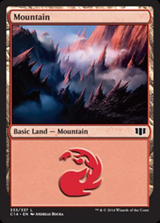 Mountain | Commander 2014