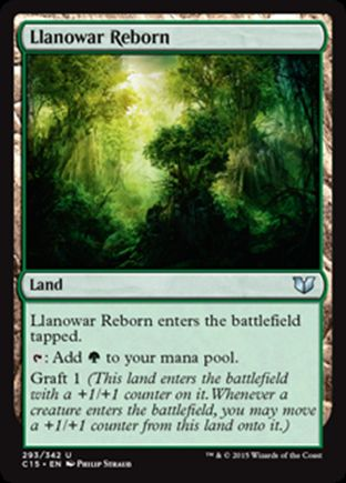 Llanowar Reborn | Commander 2015