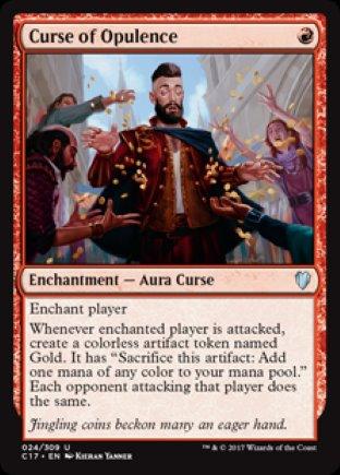 Curse of Opulence | Commander 2017