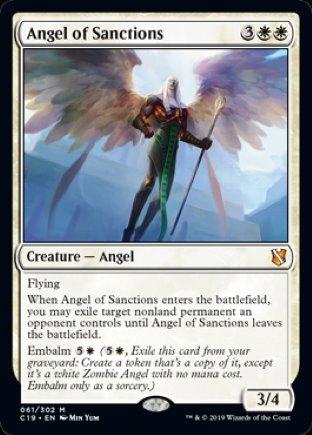 Angel of Sanctions   Commander 2019