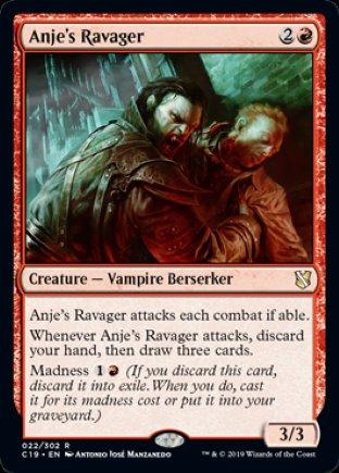 Anje's Ravager | Commander 2019