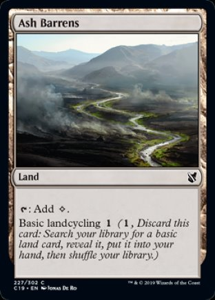 Ash Barrens | Commander 2019