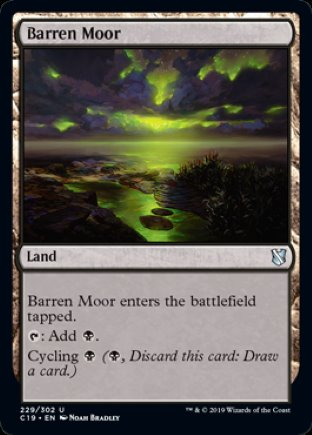 Barren Moor | Commander 2019
