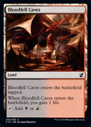 Bloodfell Caves | Commander 2019