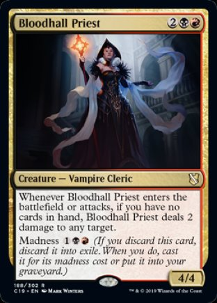 Bloodhall Priest   Commander 2019