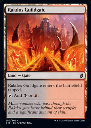 Rakdos Guildgate   Commander 2019