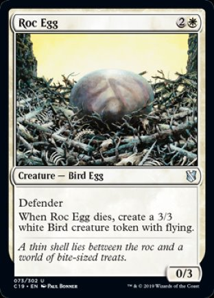Roc Egg   Commander 2019