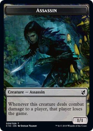 Assassin token | Commander 2019