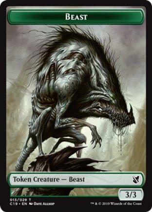 Beast token | Commander 2019