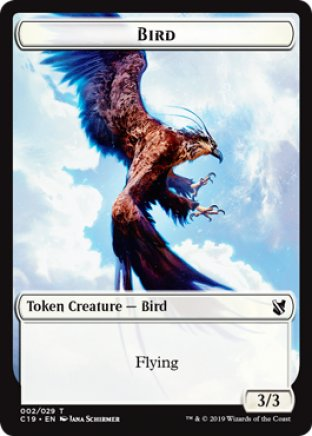 Bird token | Commander 2019