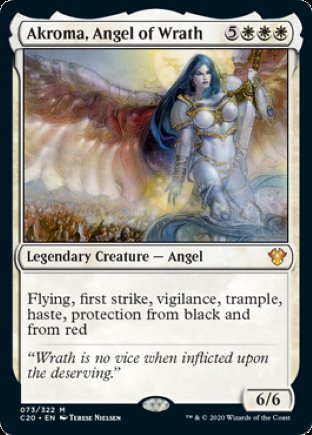 Akroma, Angel of Wrath | Commander 2020
