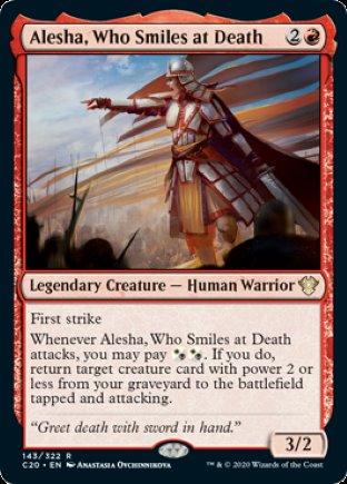 Alesha, Who Smiles at Death | Commander 2020