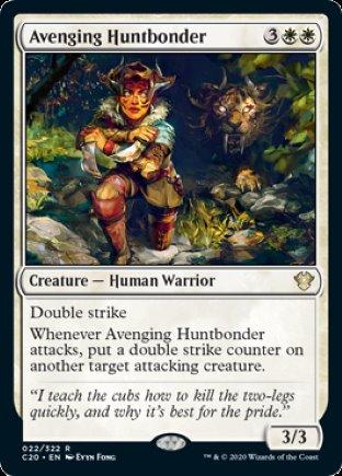 Avenging Huntbonder | Commander 2020