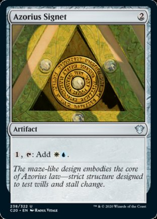 Azorius Signet | Commander 2020