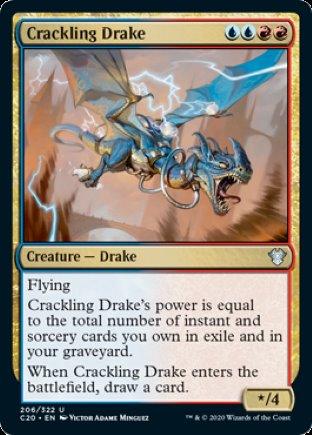 Crackling Drake   Commander 2020