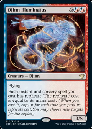 Djinn Illuminatus | Commander 2020