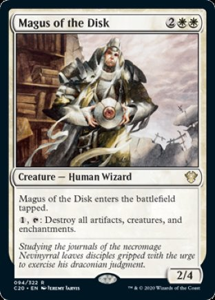 Magus of the Disk   Commander 2020