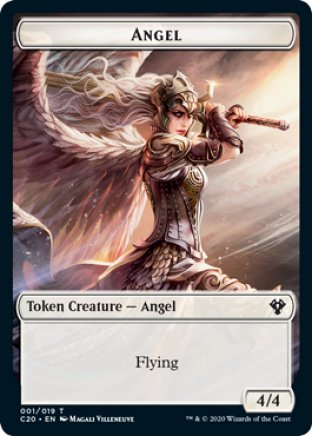 Angel token | Commander 2020