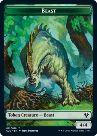 Beast token | Commander 2020
