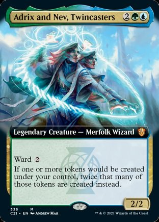 Adrix and Nev, Twincasters | Commander 2021