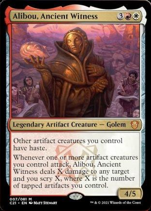 Alibou, Ancient Witness | Commander 2021