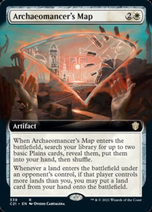 Archaeomancer's Map | Commander 2021