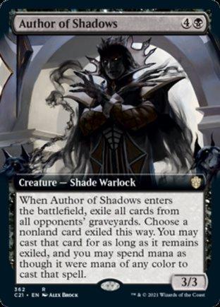 Author of Shadows   Commander 2021