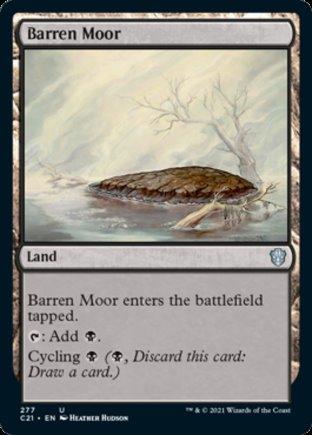 Barren Moor   Commander 2021
