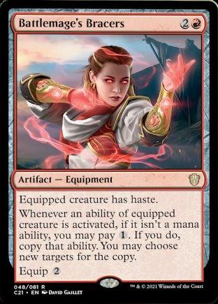 Battlemage's Bracers | Commander 2021