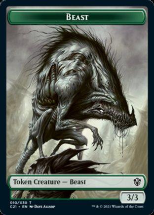 Beast token | Commander 2021