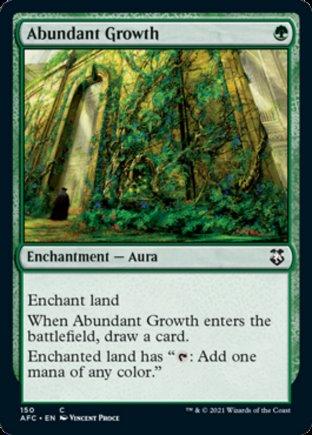 Abundant Growth | Commander Forgotten Realms