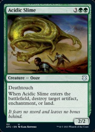 Acidic Slime | Commander Forgotten Realms